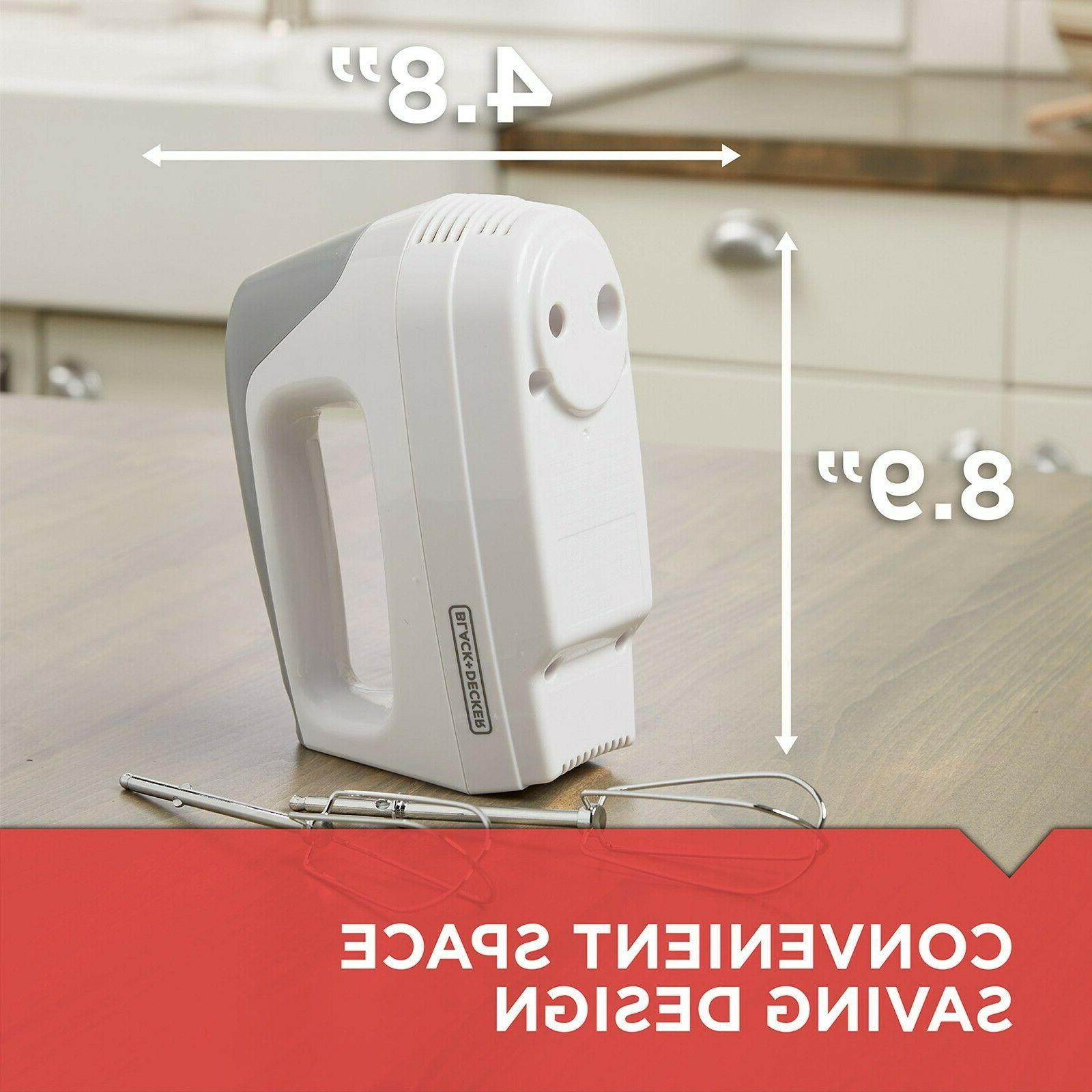BLACK+DECKER Mixer, White,