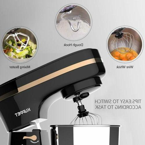 8 Electric Tilt-Head Countertop Stand Mixer