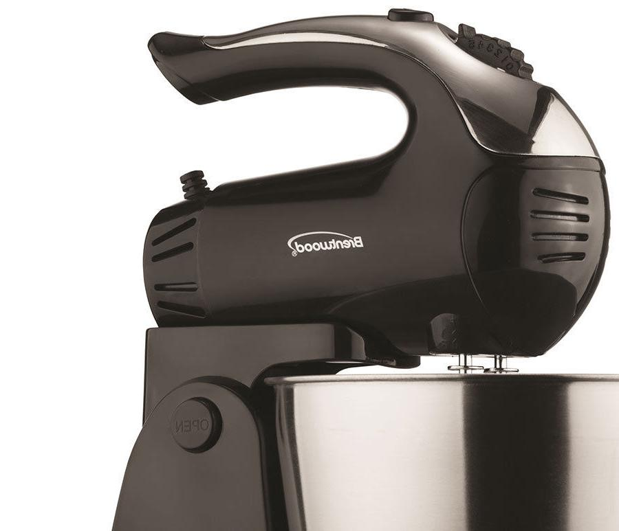 BRAND Brentwood 5-Speed Turbo Mixer,