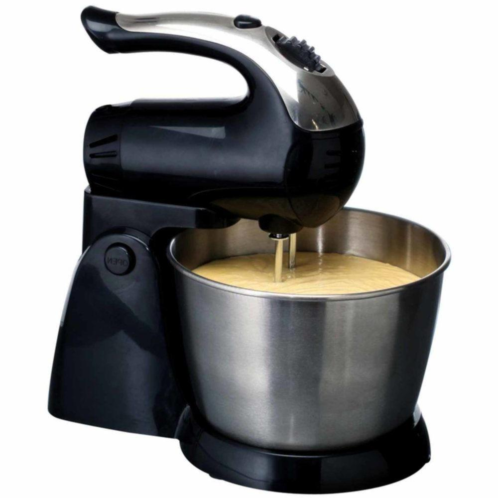 BRAND 5-Speed + Mixer, Black