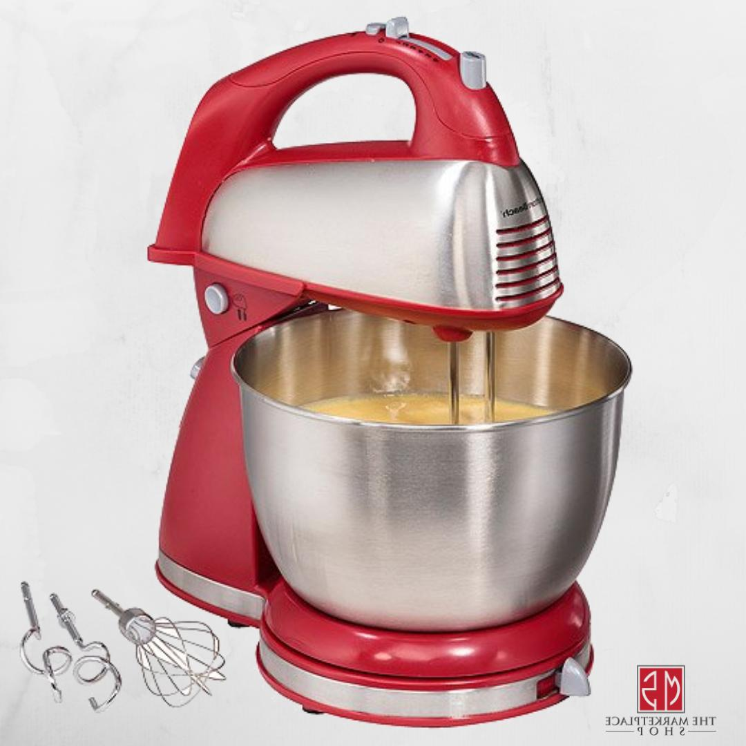 Classic Hand Stand Mixer Countertop Mixers Home Kitchen Baki