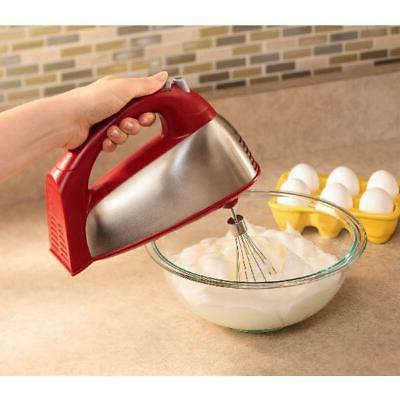 Hamilton Beach Stand Baking Dough Stainless Red