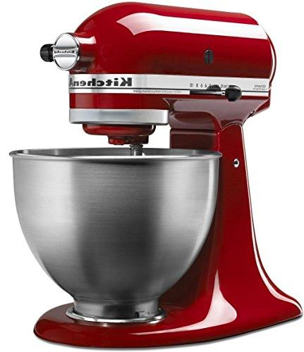 classic red stand mixer