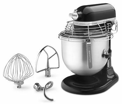 KitchenAid Commercial 8 Bowl-Lift Stand with Bowl Guard Black
