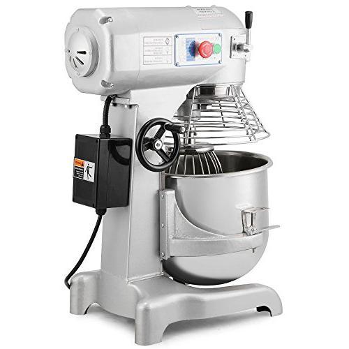 FoodKing Food Mixer Quart Electric with 3 Agitator Attachments Grade