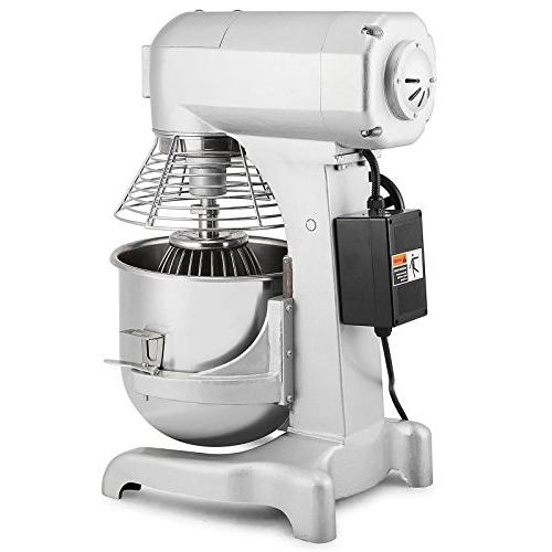 FoodKing Food Food Mixing Stand Mixer Electric Dough 3 Agitator Attachments Grade