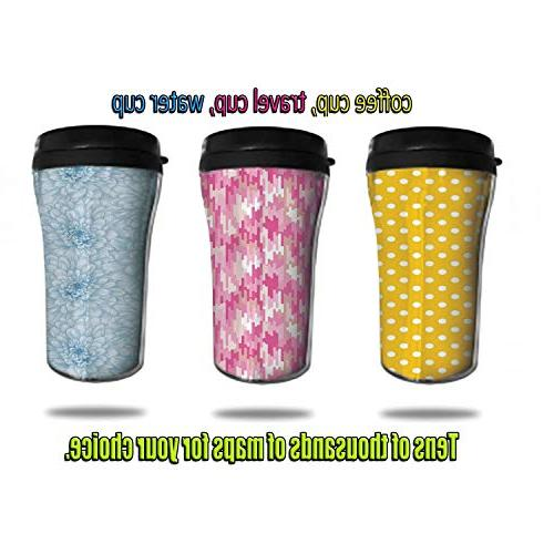 Stainless Insulated Travel Mug,Spill Proof Flip Lid Keeps 8.45 OZ(250 ml)Customizable byNatural Reed Flute Cave Chi
