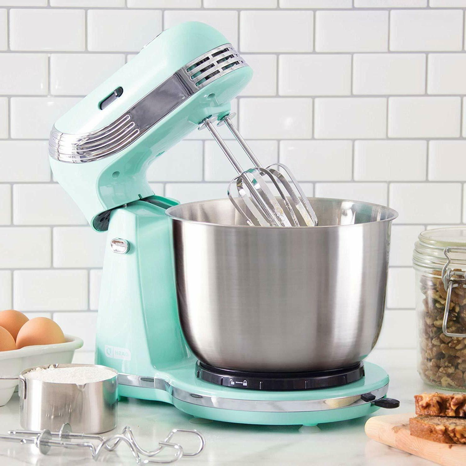 new Stand Mixer Fast Stainless Steel Steel Kitchen Food 6 sp