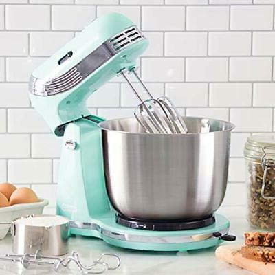 Dash Stand Mixer for Everyday Use: 6 Speed Stand with 3