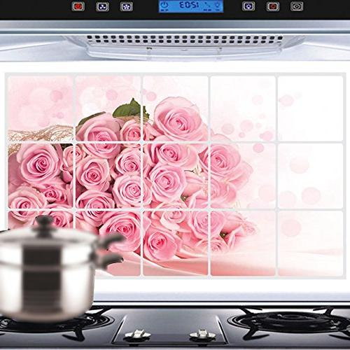 Rose Decal Exhaust Fat Stickers 45cm Stand Mixer Aid