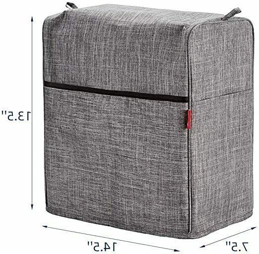 Dust Cover Tilt Head 4.5-5 Quart, Grey