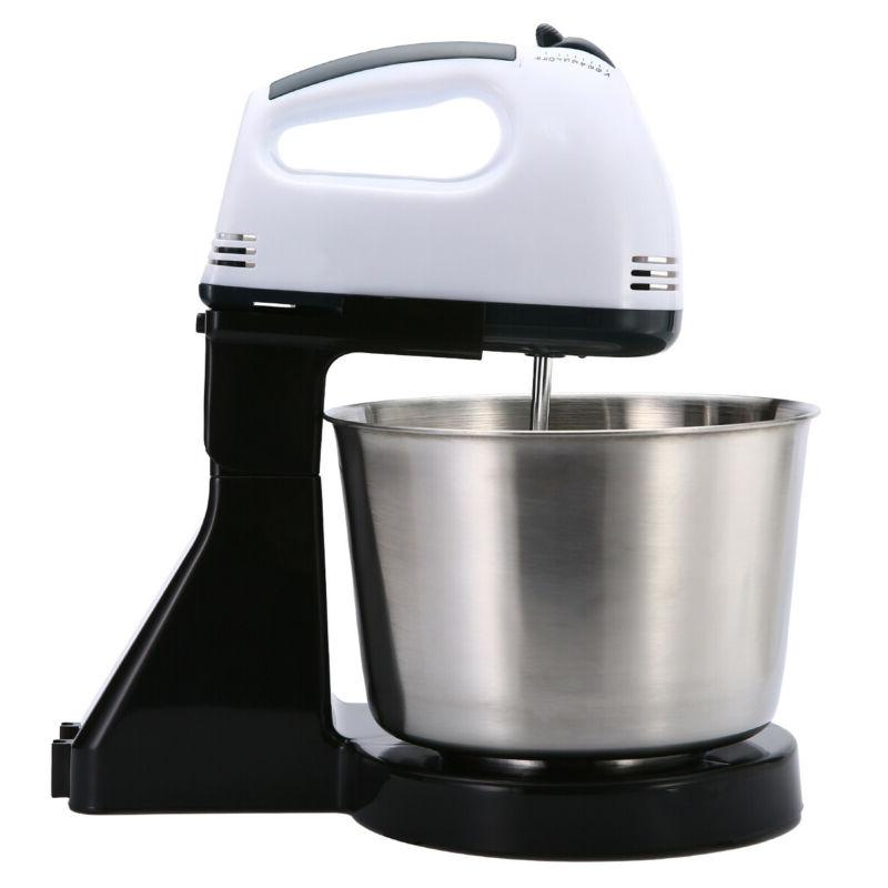 7 Speed Electric Dough Egg Cake Countertop Stand Mixer Tools