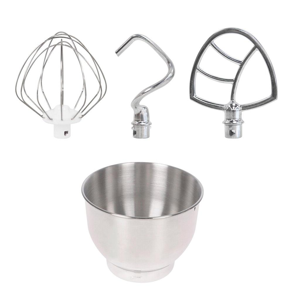 RELICE <font><b>Stand</b></font> <font><b>Mixer</b></font> <font><b>800W</b></font> Liters Household Kitchen Food <font><b>Mixer</b></font> Mixing Dough Hook Flat Day