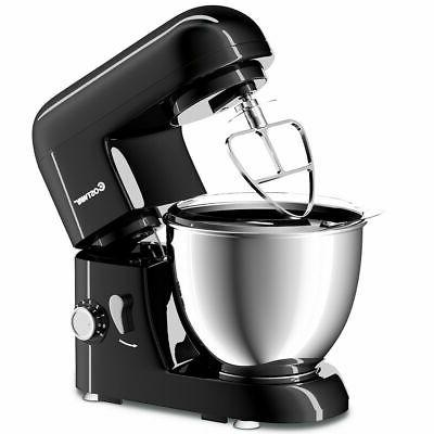 4.3Qt 550W Electric Stand Mixer W/6 Speed Tilt-Head & Stainl