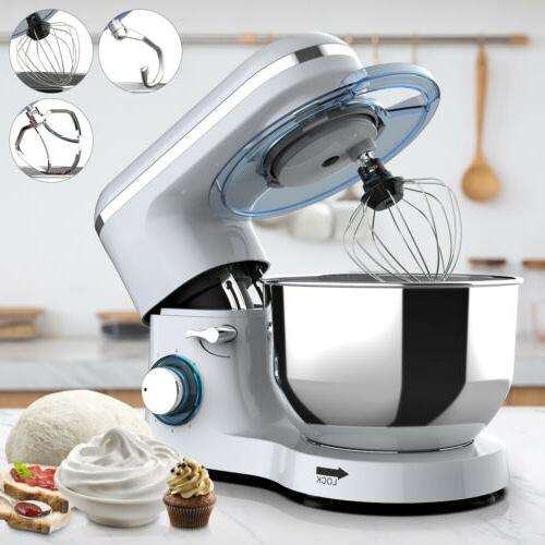 Electric Stand Mixer 660W 7QT Tilt-Head Kitchen Mixing Machi
