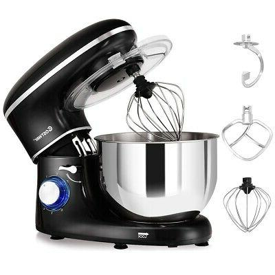 Electric Food Stand Mixer 6 Speed Kitchen NEW Premium Stainl