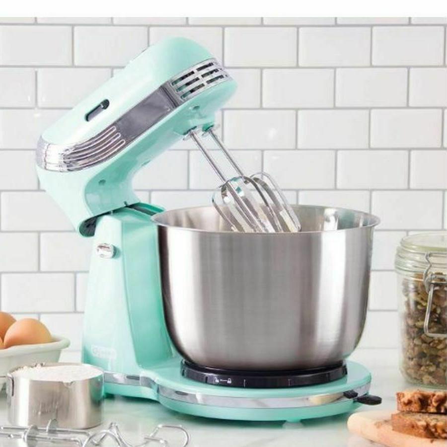 Electric Food Stand Kitchen Baking Tilt Head Steel Bowl