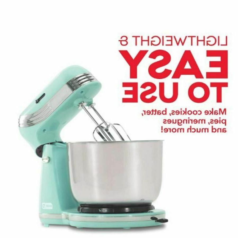 Electric Kitchen Baking Tilt Head Stainless Bowl