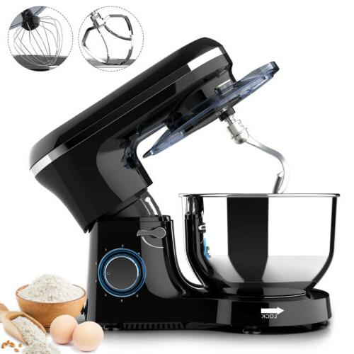 electric food stand mixer 6 speed 7qt