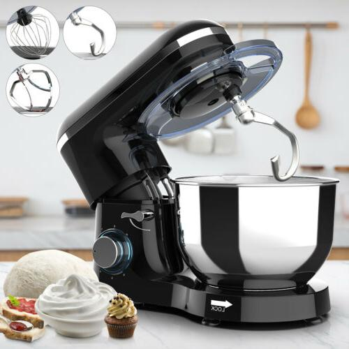 6 speed electric stand mixer 660w 7qt