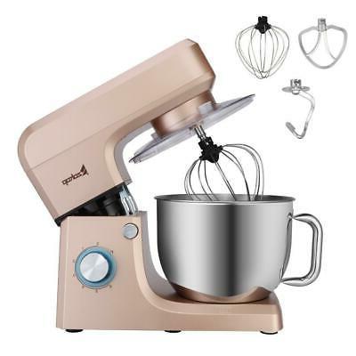 Zokop ElectricTilt-Head 7.5 Quart Food Stand Mixer 660W 6-Sp