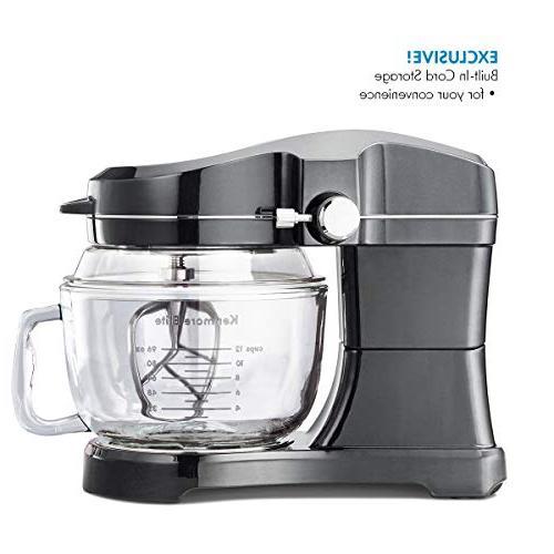 Kenmore Exclusive Tilt-Head Kitchen Mixer, Metallic