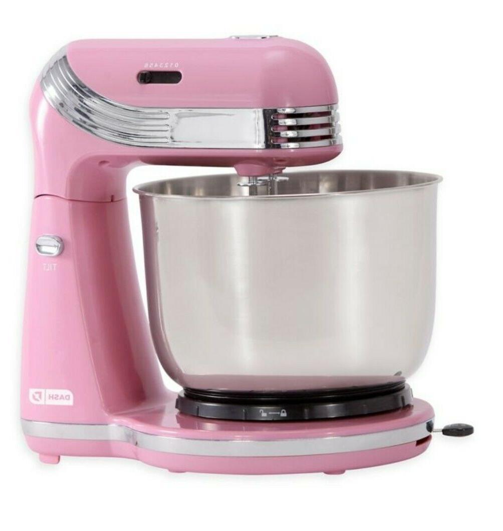 Dash Everyday Mixer 6-Speeds Pink