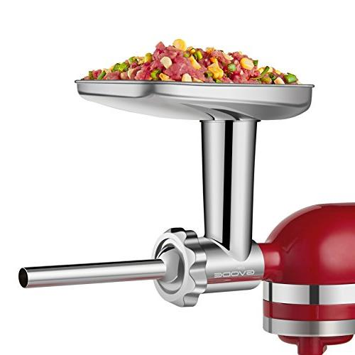 Stainless Attachment KitchenAid Mixers Sausage Dishwasher Accessories as Meat