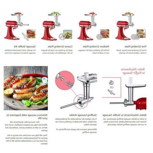 Sausage Stuffer KitchenAid Stand