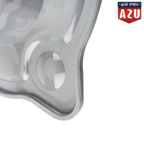 Frosted Bowl Lid Cover glass head stand mixer