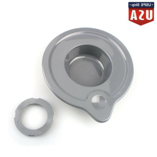 frosted glass bowl lid cover for kitchenaid