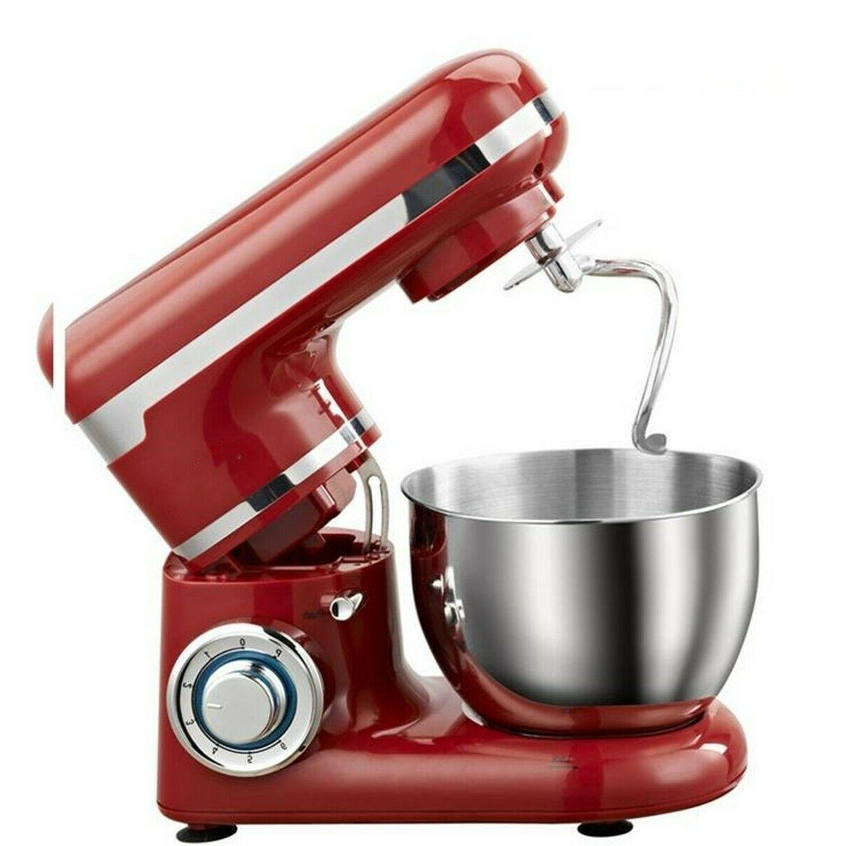 Hamilton 64654 Classic Hand & Mixer -Red, with stainless