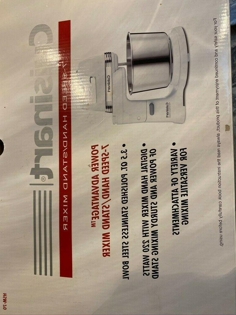 Cuisinart Stand Mixer 7 In Original Box