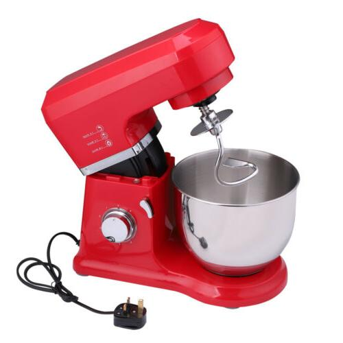Industrial Electric Mixer Stainless Bowl