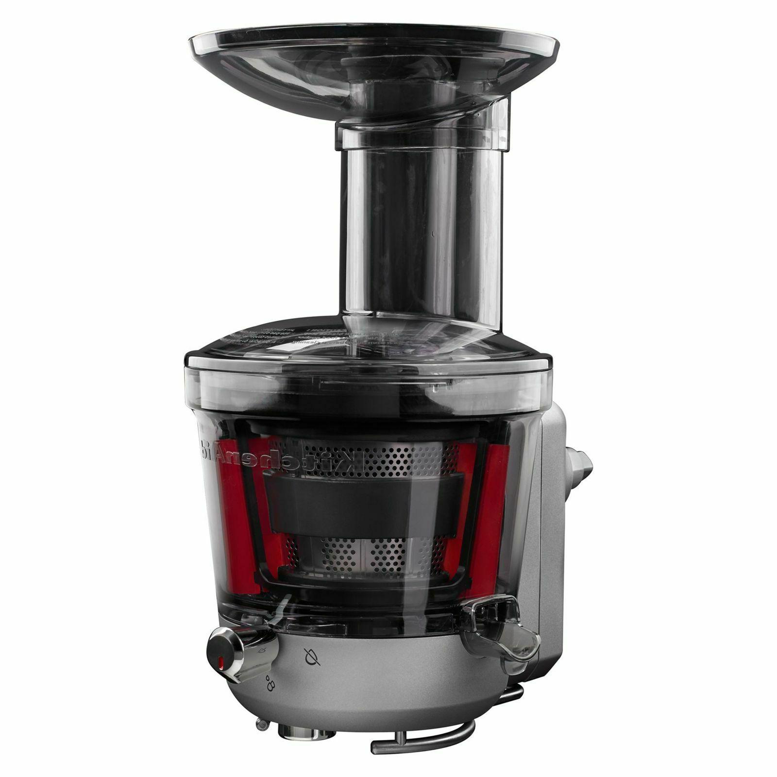 juicer and sauce attachment for stand mixer