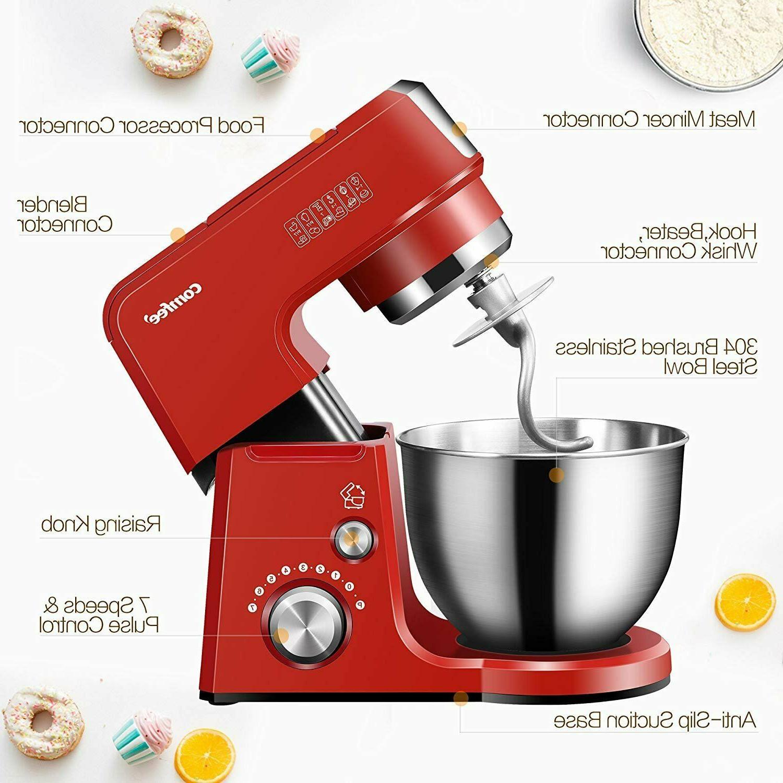 Comfee Kitchen Machine Die Cast Tilt-Head Stand Mixer