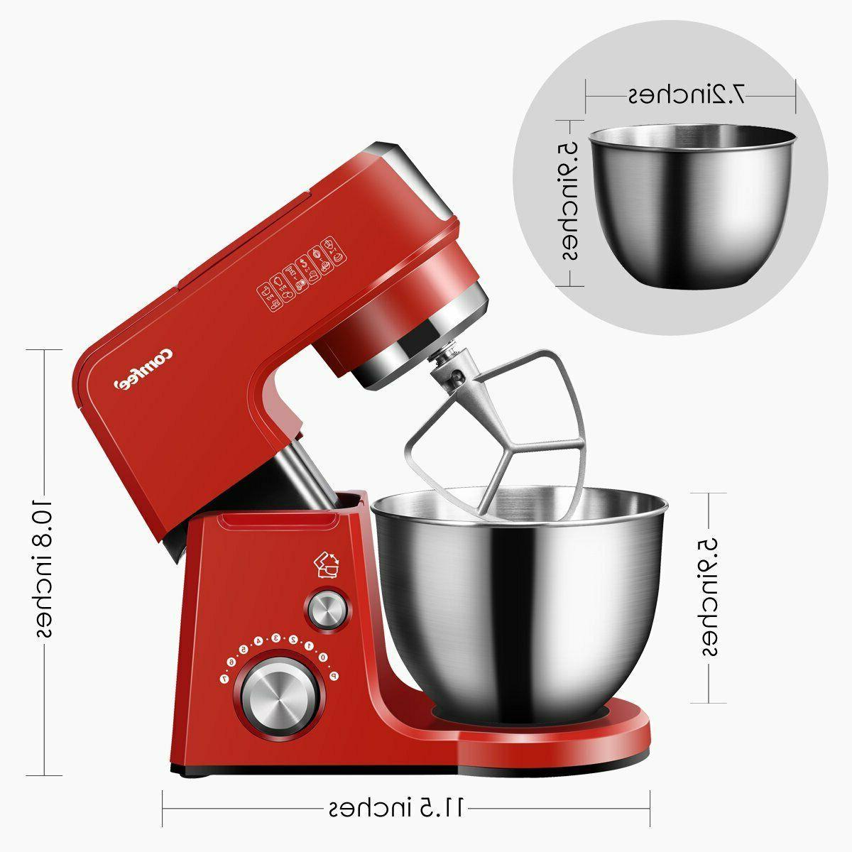 Comfee Kitchen Machine Cast Function Tilt-Head Stand