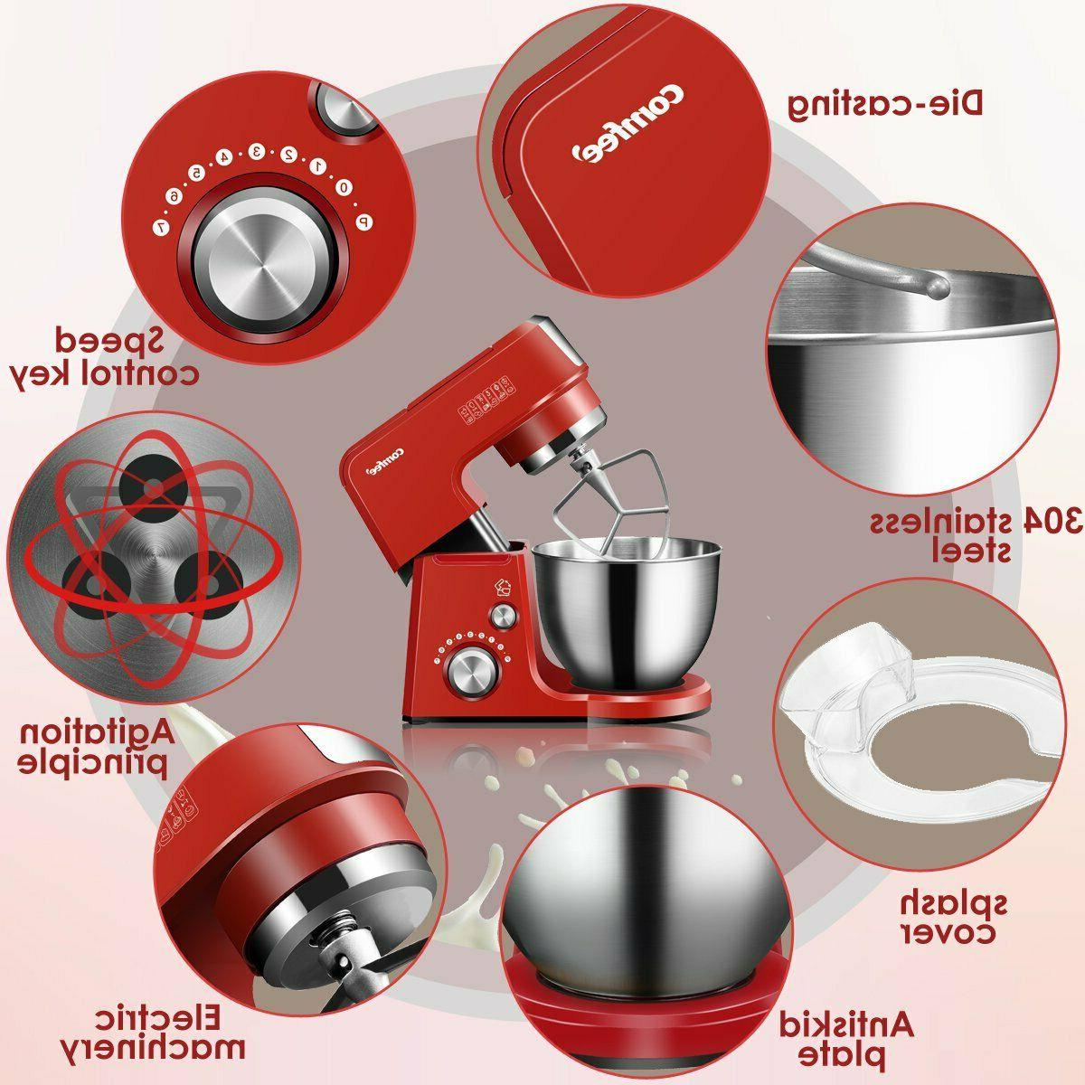 Comfee Machine Die Cast Tilt-Head Stand Mixer