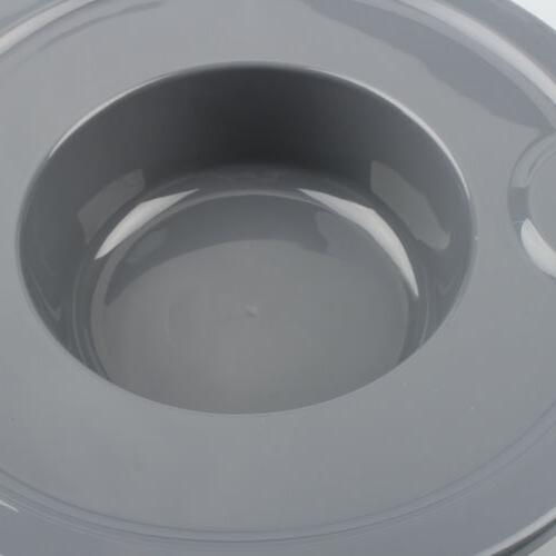 Frosted Glass Bowl Lid Cover KitchenAid glass stand