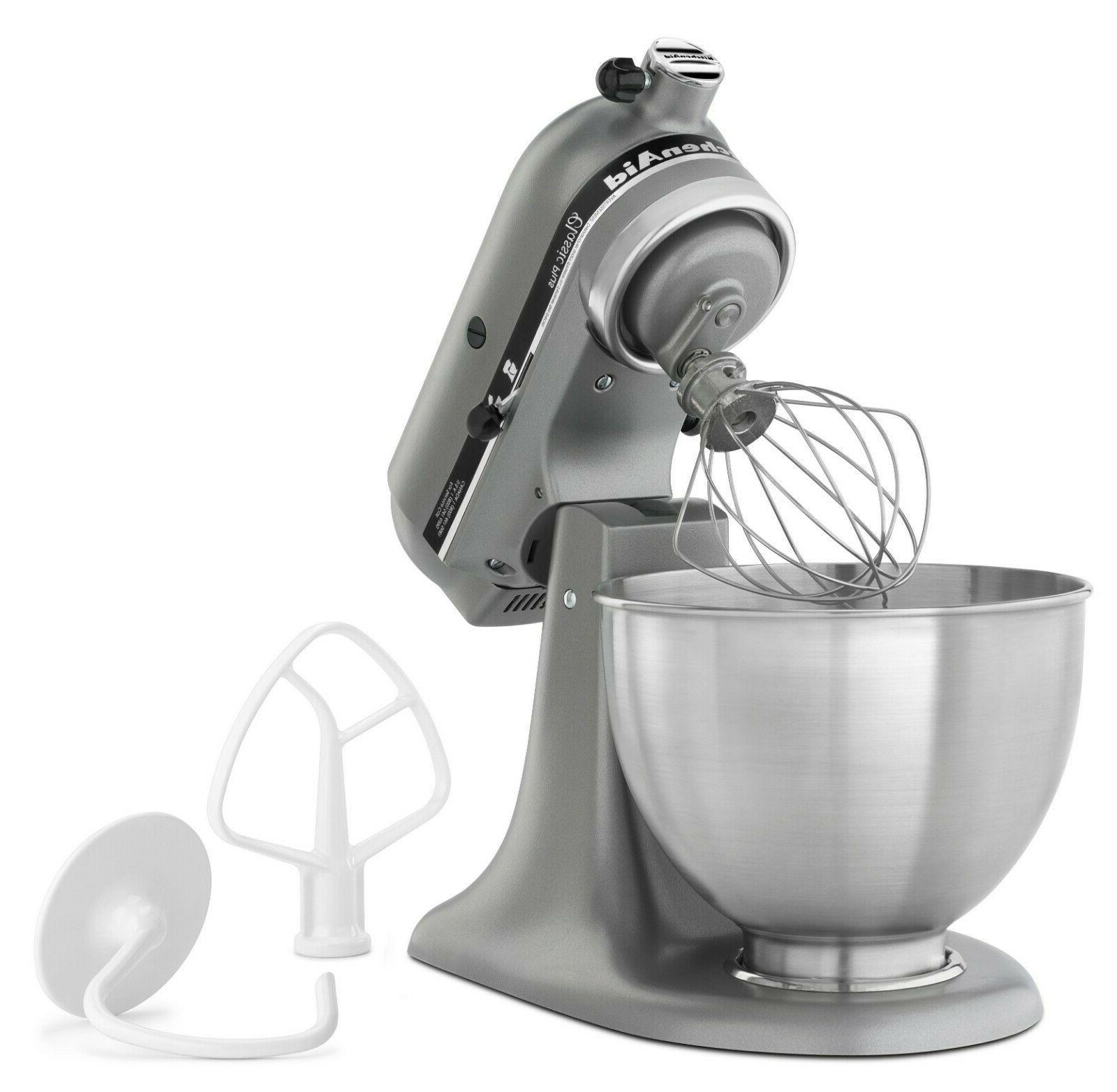 KitchenAid® Classic Plus™ Series 4.5 Quart Tilt-Head Stand Mixer -