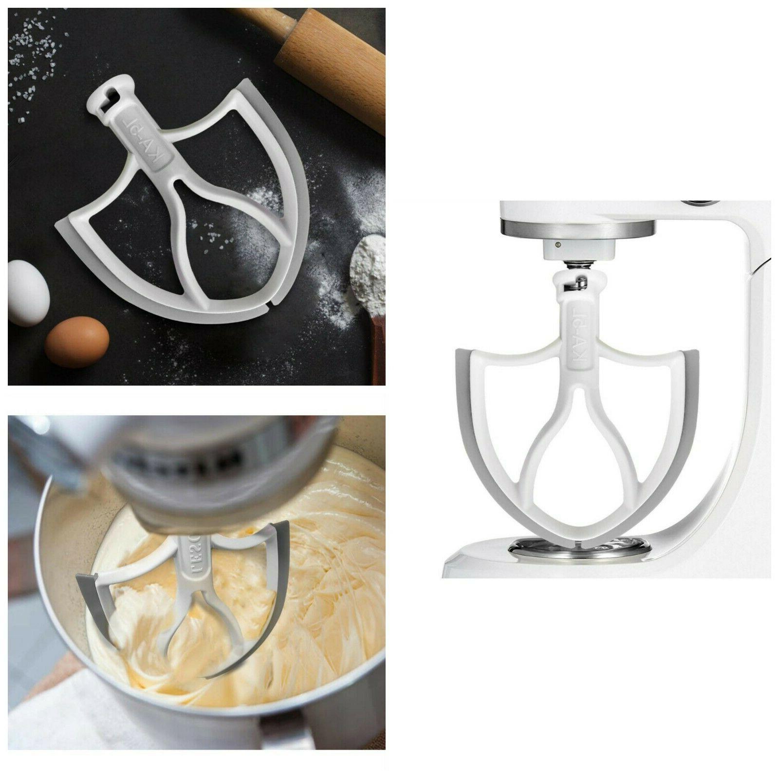 kitchenaid stand mixer attachments blade paddle flex
