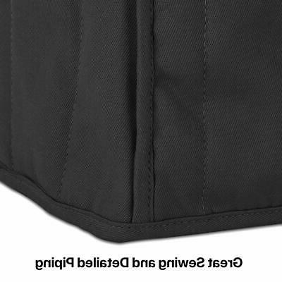 Kitchenaid Cover with Fabric Black