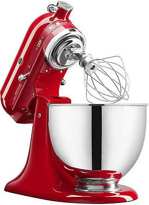 KitchenAid KSM180QHSD 100 Limited of Hearts Mixer, Red