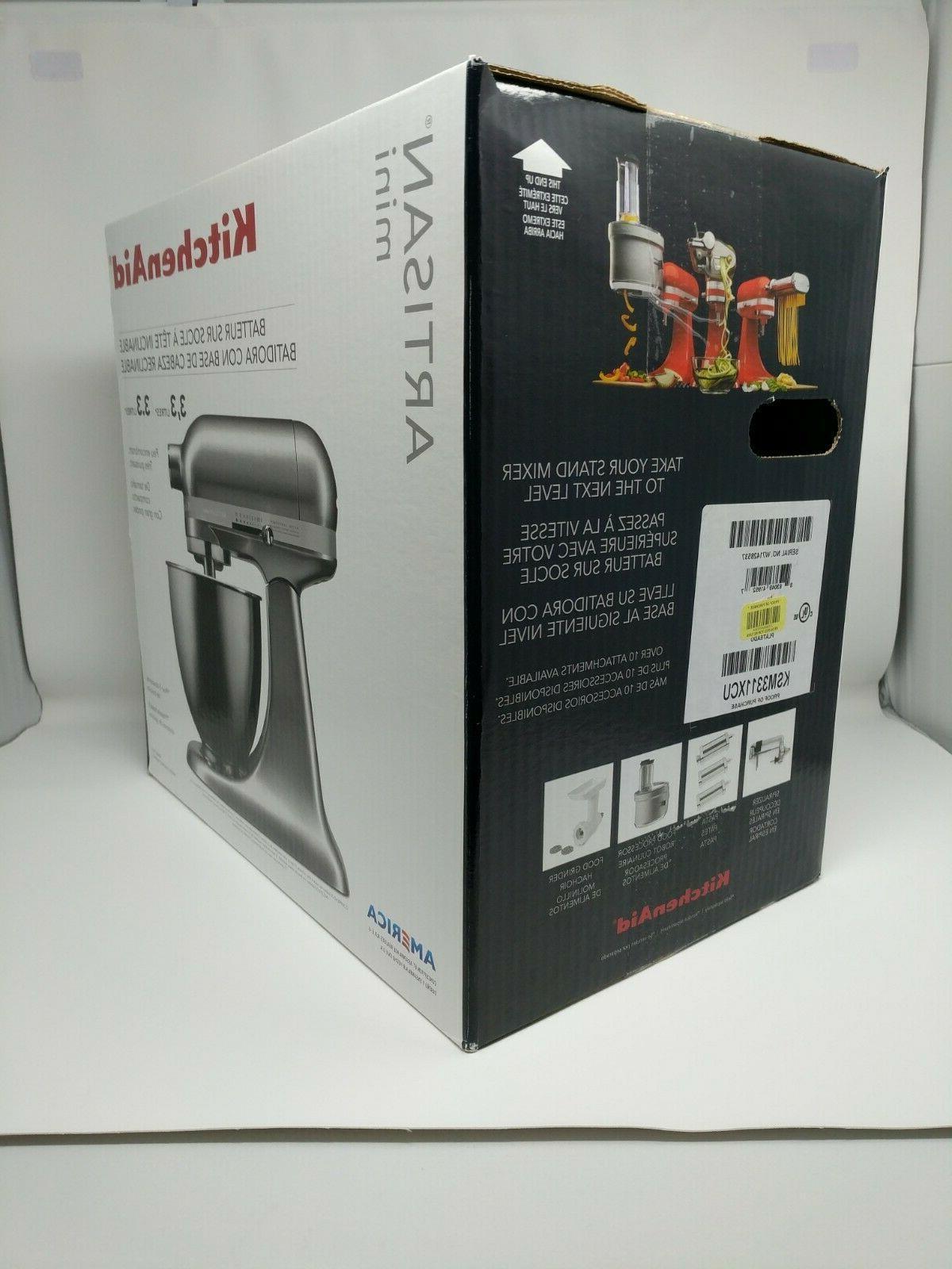 KitchenAid Artisan Tilt-Head Stand qt Contour Silver