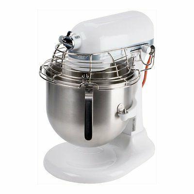 KitchenAid KSMC895WH Commercial Stand Mixer 8-Quart Stainles