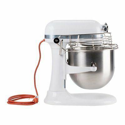 KitchenAid KSMC895WH Mixer 8-Quart White New