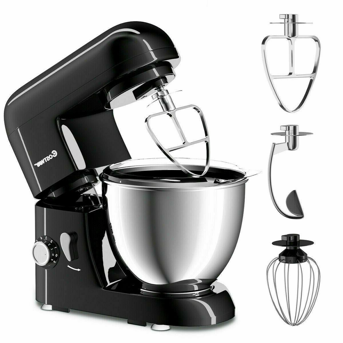 largeelectric food stand mixer 6 speed 4