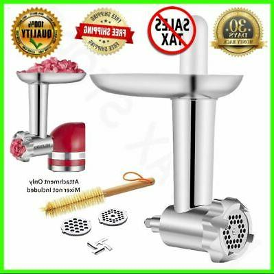metal meat grinder attachment for home food