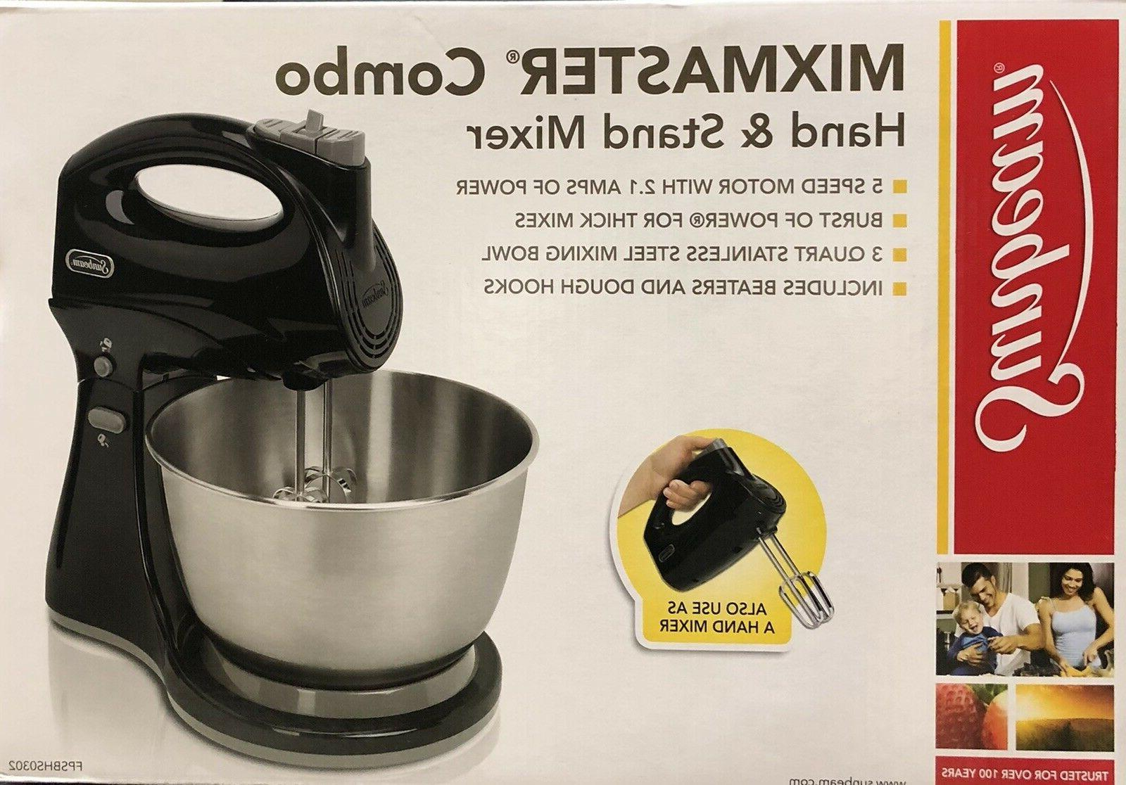 Sunbeam Mixmaster 250-W, Combo White or