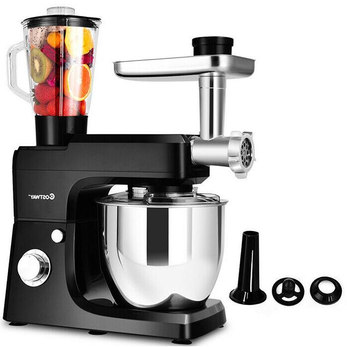 Costway Multifunctional Stand Mixer Blender Meat Grinder Sausage
